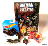 Batmobile Hot Wheels & Batman Collector Comic Supreme