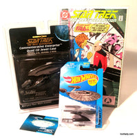 Star Trek Space Ship Hot Wheels & Collector Comic Supreme