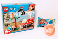 LEGO City 4+ Fire Fighters Set BBQ Burn Out