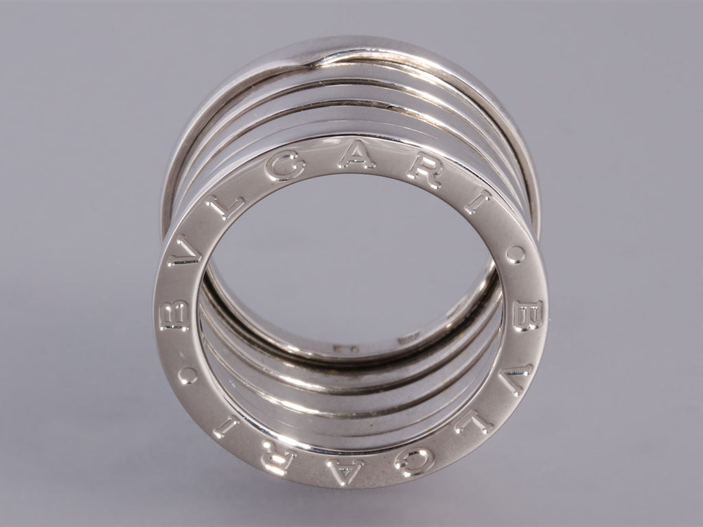 Bulgari Four Row B.Zero1 Ring