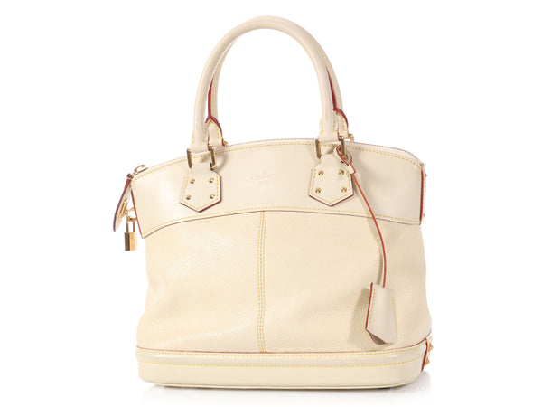 Louis Vuitton Cream Suhali Lockit PM
