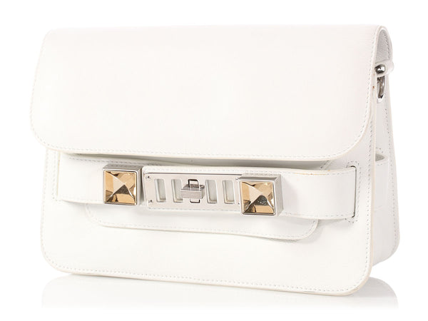 Proenza Schouler White Mini Classic PS11