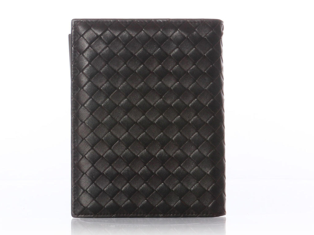 Bottega Veneta Brown Woven Agenda