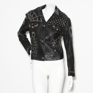 Vintage Katharine Hamnett Clean Up Or Die Moto Jacket