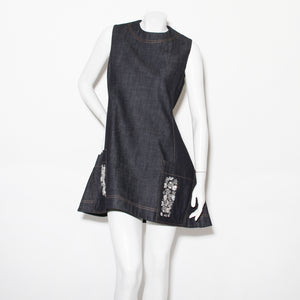 Dior Denim A-Line Dress