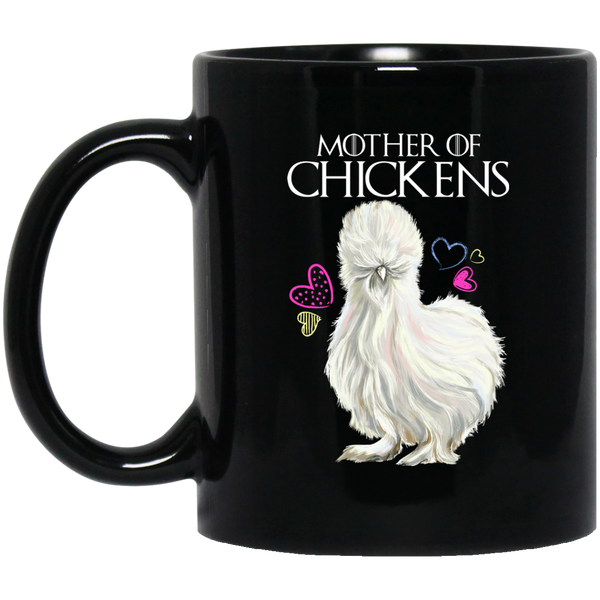 Chicken Lady Gifts, Mother Of Chickens Coffee Mug