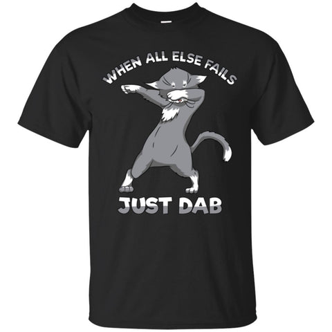 Cat Dab Shirt Funny Dabbing Kitty Unisex Tees - GoneBold.gift