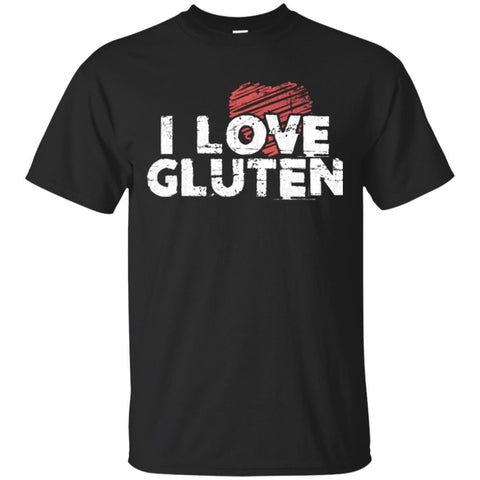 Funny Shirt I Love Glutein Unisex Tees