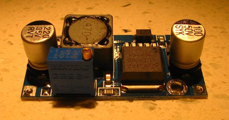 Adjustable LM2596 DC-DC Step-down/Buck Regulator