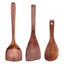 Classic Non-stick Cookware Wooden Kitchen Cooking Utensil Set, 3 pieces, NO.003