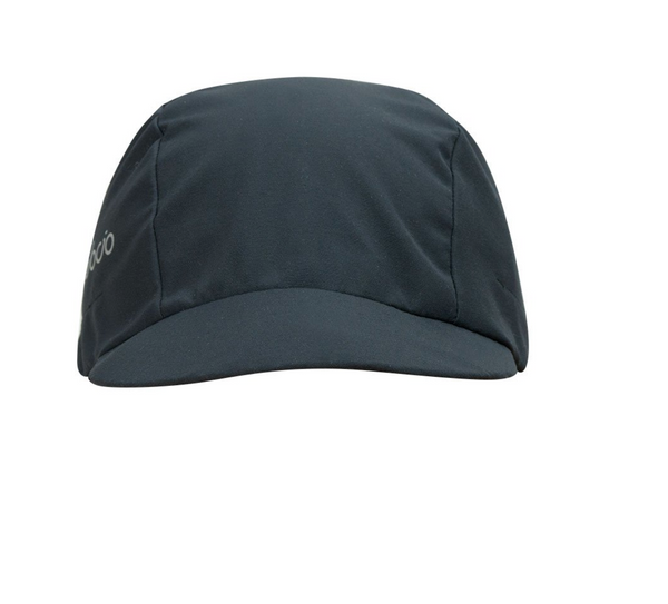 VELOCIO BREATHABLE RAIN CAP BLACK CHARCOAL - ONE SIZE ACCESSORY