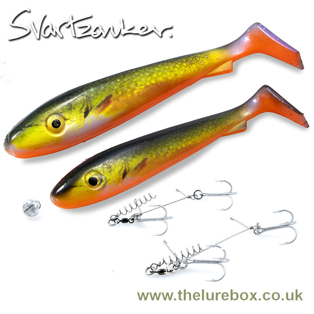Real Series Value Pack 21cm & 17cm, Stinger Tackle & Screw In Dot