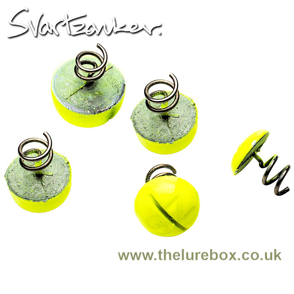 Screw-In-Dots Nose & Belly Weight - Fluo Yellow