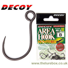 Decoy Area Type 3 Inline Barbless Single Replacement Hooks - The Lure Box