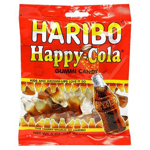 Haribo Bags Happy Cola 5oz