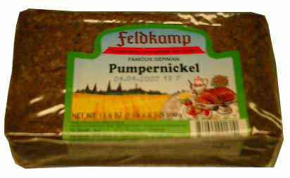 Delba/Feldkamp Breads Pumpernickel Bread 16.75oz