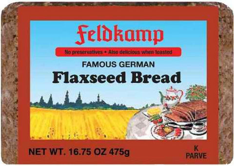 Delba/Feldkamp Breads Linseed Bread (Flaxseed) 16.75oz