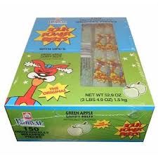 Sour Power Belts Individuals Green Apple 150ct