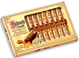 Asbach 20 Brandy Bottles in Window Box 6/8.8oz #2219