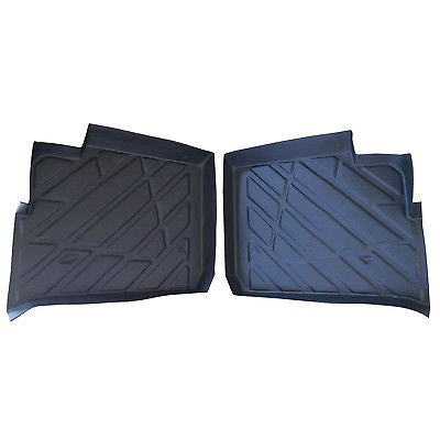 2013-2015 Polaris Ranger XP 900 Crew REAR floor mats Liners protectors rubber