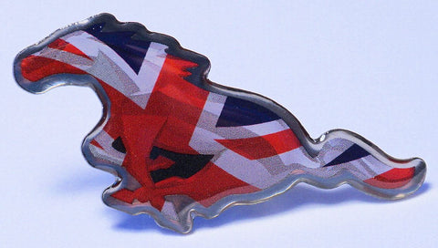 SEMA 2014 Mustang International Great Britain Hat Pin