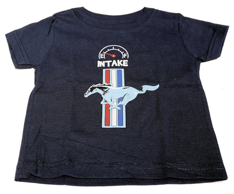 Ford Mustang infant shirt in navy blue
