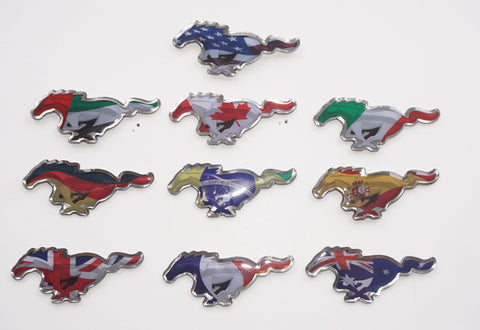 2014 SEMA Mustang International pin set