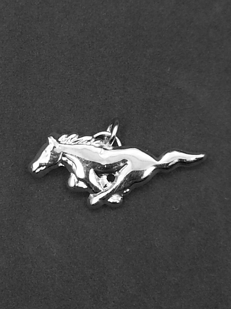 Ford Mustang running horse charm