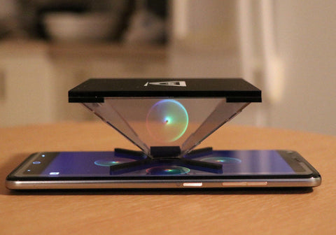 50% OFF! Holapex Vivid hologram pyramid for Tablets 7-12 INCHES