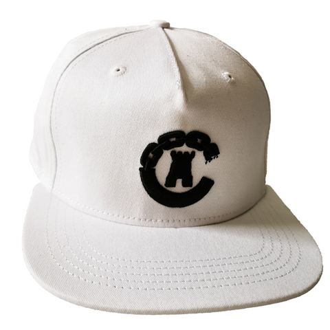"Crooks and Castles - Plain White ""C"" Snapback - The Hidden Base"
