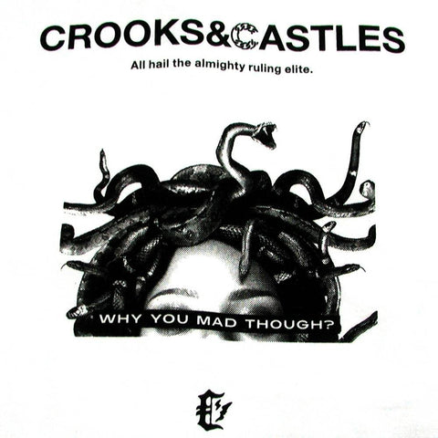 Crooks and Castles - You Mad Tee - The Hidden Base