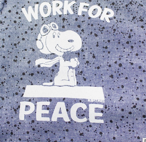 TSPTR - Work For Peace Button Down Shirt - The Hidden Base