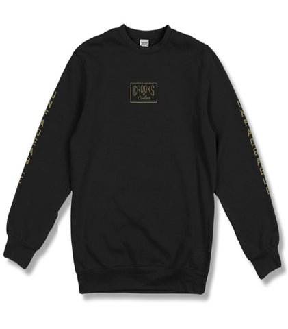 Crooks & Castles - Fades Crewneck Sweatshirt - The Hidden Base
