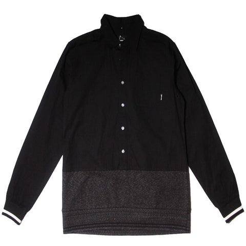Diamond Supply Co - Marquise Woven Hooded Shirt - The Hidden Base