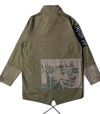 Crooks and Castles - Vultures Trench Coat - The Hidden Base