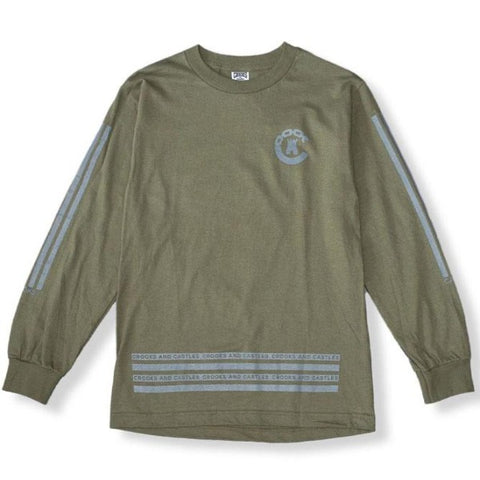 Crooks & Castles - Banding L/S T-Shirt - The Hidden Base