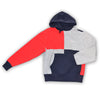 CHAMPION REVERSE WEAVE COLORBLOCK HOODIE - Navy