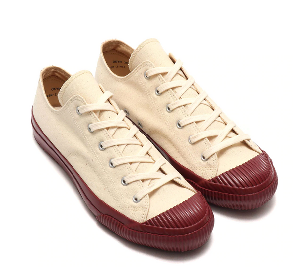 PRAS SHELLCAP LOW - KINARI / BURGUNDY