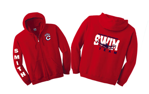Chap Swim & Dive Zip Up Hoodie -Matte or Glitter