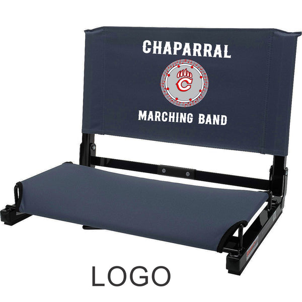 Chap Band Stadium Seat in 3 Designs- Matte or Glitter