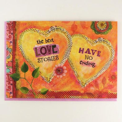 The Best Love Stories Anniversary Card