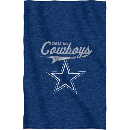 "NFL Dallas Cowboys ""Script"" 54"" x 84"" Sweatshirt Throw"