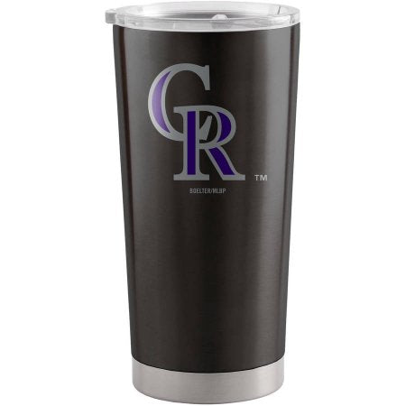 MLB Colorado Rockies 20 oz Colored Ultra Tumbler