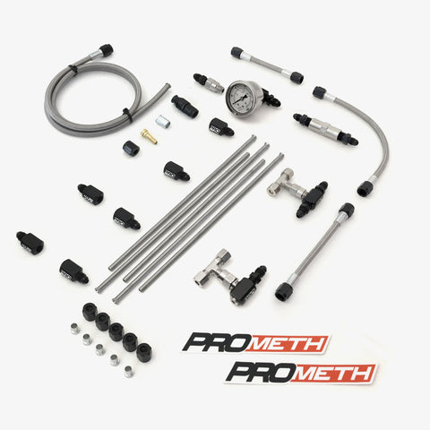 U-Bend It Universal 4 Cylinder Direct Port Methanol Injection With 5th Injector, Single Stage