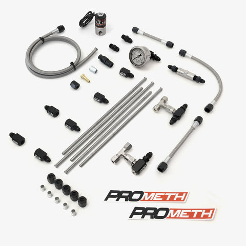 U-Bend It Universal 4 Cylinder Direct Port Methanol Injection With 5th Injector, Dual Stage