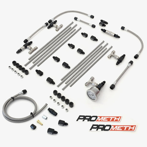 U-Bend It Universal V8 Direct Port Methanol Injection With 9th Injector, Single Stage