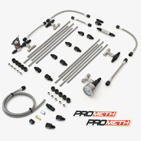 U-Bend It Universal V8 Direct Port Methanol Injection With 9th Injector, Dual Stage