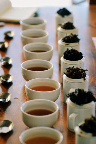 The Steepery Tea Co. - Cupping Line