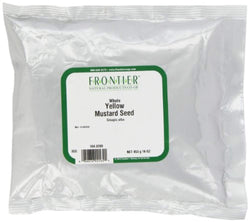Frontier Mustard Seed, Yellow Whole (#1 Grade), 16 Ounce Bags (Pack of 3)