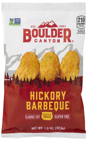 Boulder Canyon Hickory Barbeque Kettle Cooked Potato Chips